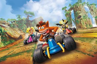 Crash Team Racing Nitro Fueled PS4 Xbox One Switch Sony jeu vidéo course objets kart Beenox Activision Crash Bandicoot