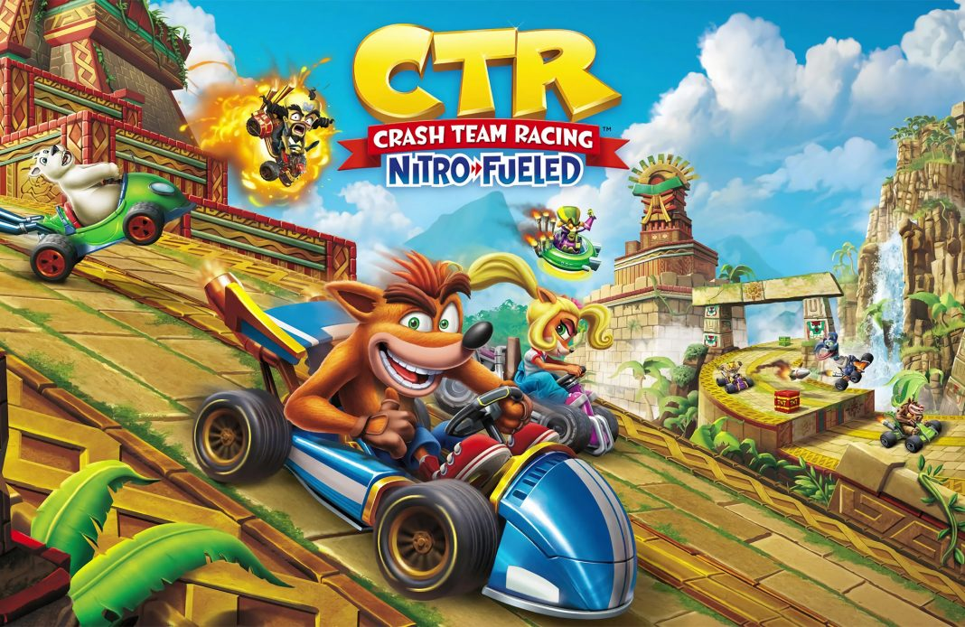 Crash Team Racing Nitro Fueled PS4 Xbox One Switch Sony jeu vidéo course objets kart Beenox Activision Crash Bandicoot Mario Maker 2 Nintendo Ubisoft Jugement SEGA Anno 1800