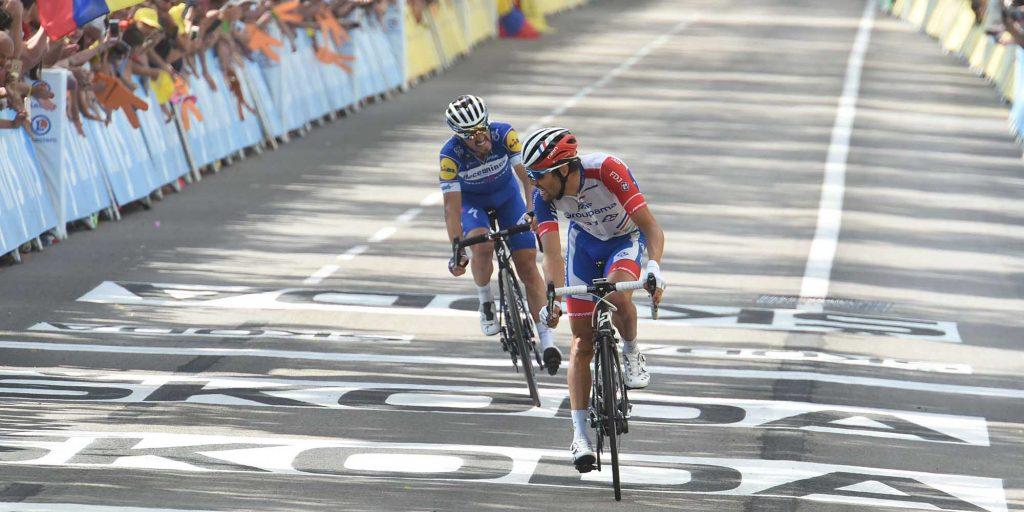 cyclisme - velo - tour de france - grande boucle - teunissen - pinot - alaphilippe - ciccone maillot jaune