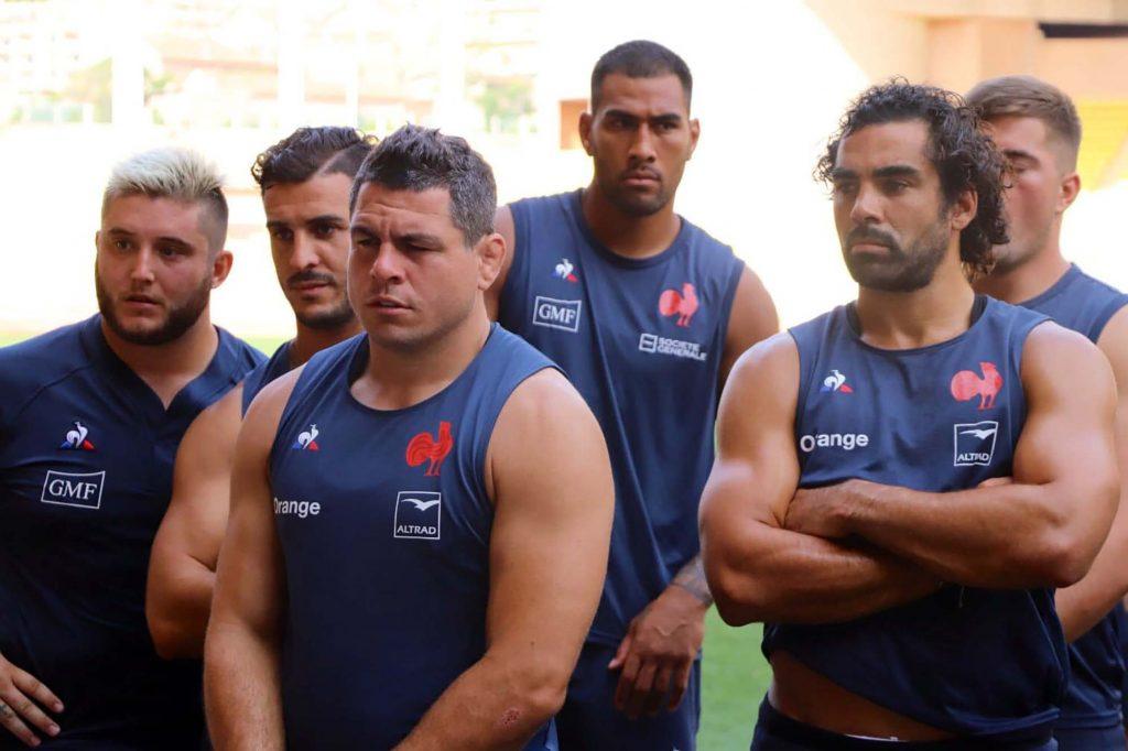 rugby - france - xv de france equipe de france - coupe du monde - guilhem guirado - geoffrey doumayrou - italie - ecosse
