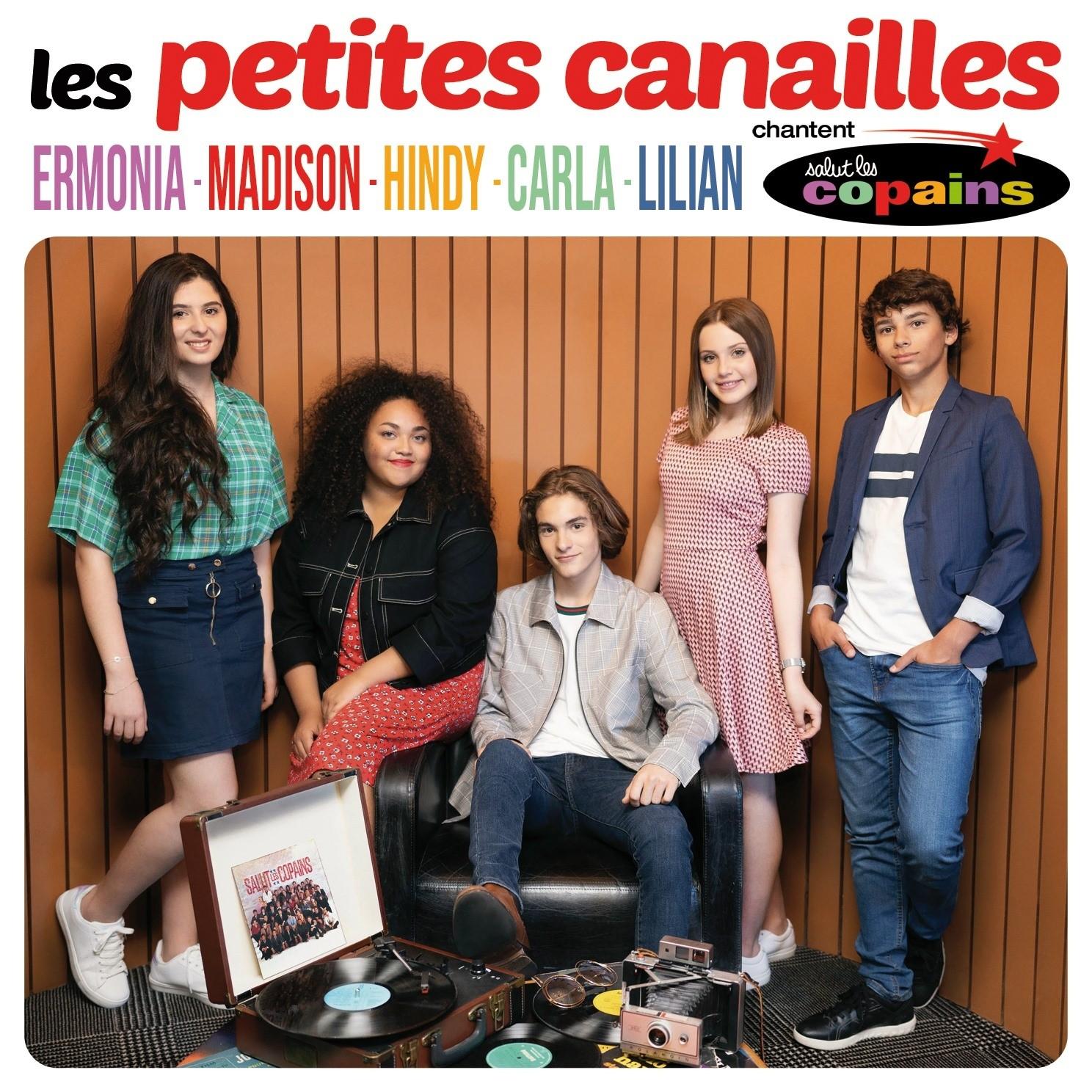 pochette - album - Les Petites Canailles - Salut Les Copains