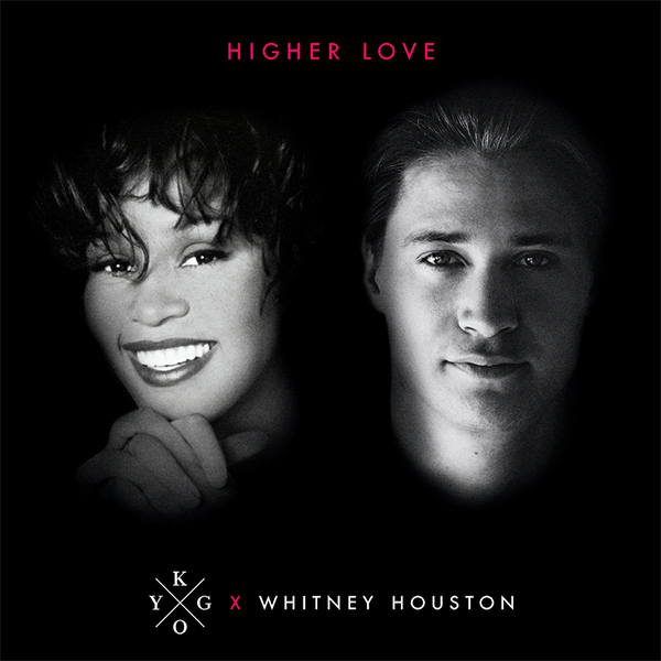 Kygo - Whitney Houston - Pochette - Higher Love