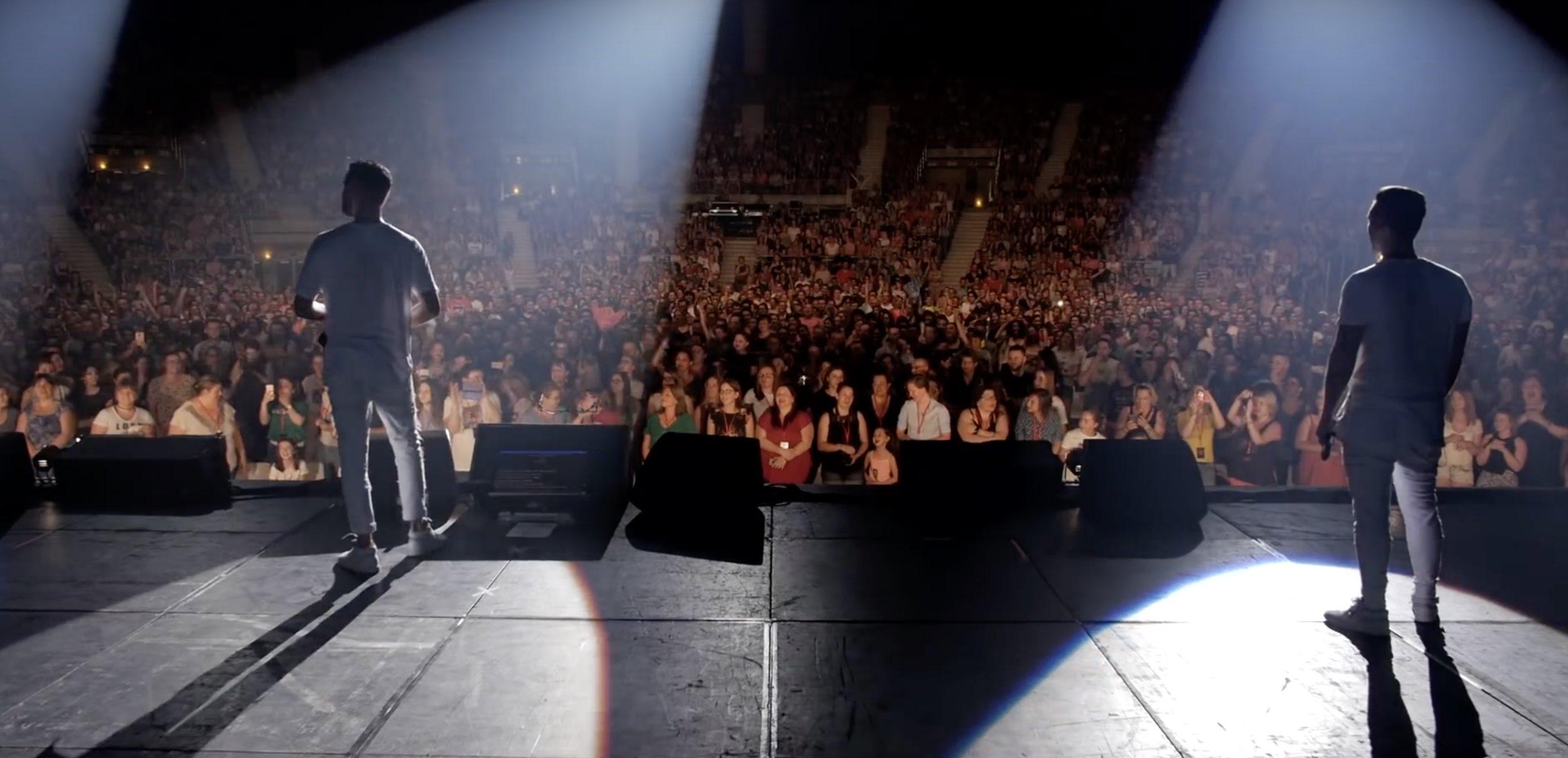 Keen'V - Live - concert - public