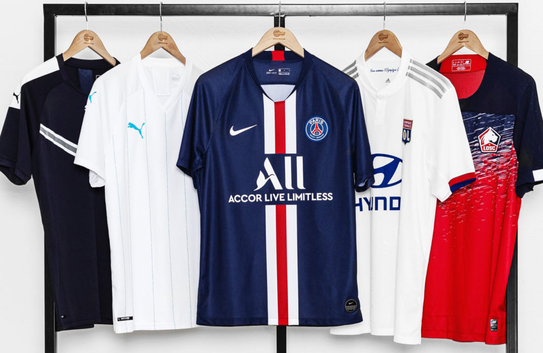 foot - football - L1 - Ligue 1 - maillot - sponsor - sponsoring