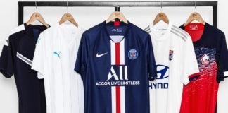 foot - football - L1 - Ligue 1 - maillot - sponsor - sponsoring