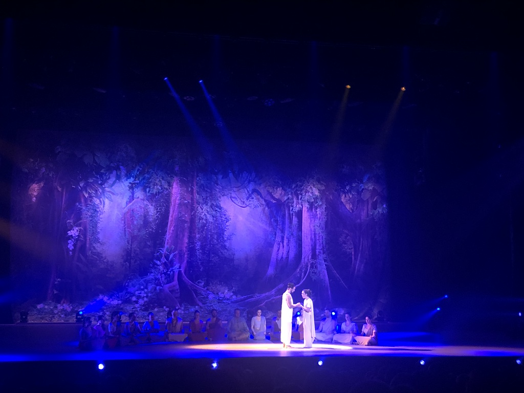 Siddhartha l'opéra rock - palais des sports