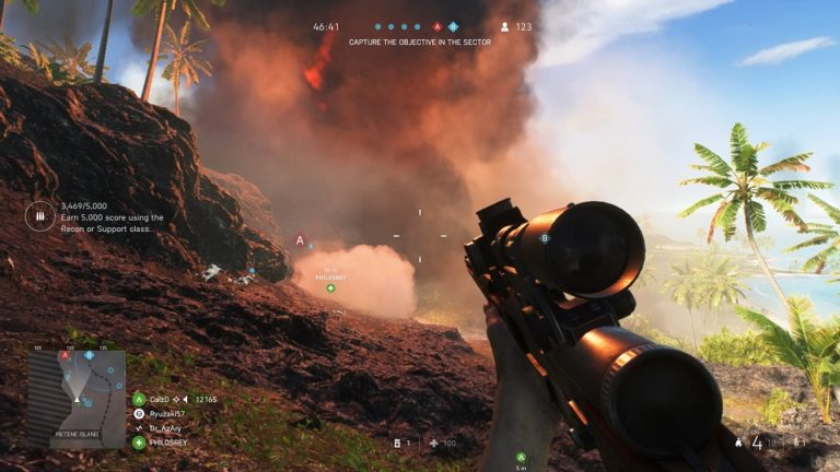 Battlefield V BFV BF5 Electronic Arts DICE PS4 XboxOne shooter jeu de tir jeu vidéo seconde guerre mondiale Etats-Unis Japon Pacifique Iwo Jima mise à jour FPS