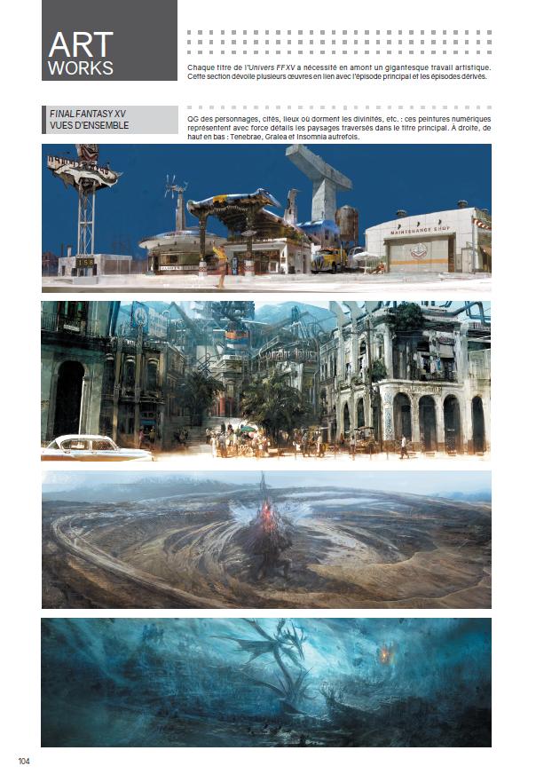 Final Fantasy XV FFXV jeu de rôles SquareEnix Mana Books Livre PS4 Xbox One Heroic Fantasy RPG JPRG Noctis