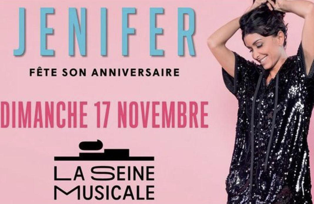 Jenifer - concert - Jenifer fête son anniversaire - Seine Musicale - Boulogne Billancourt