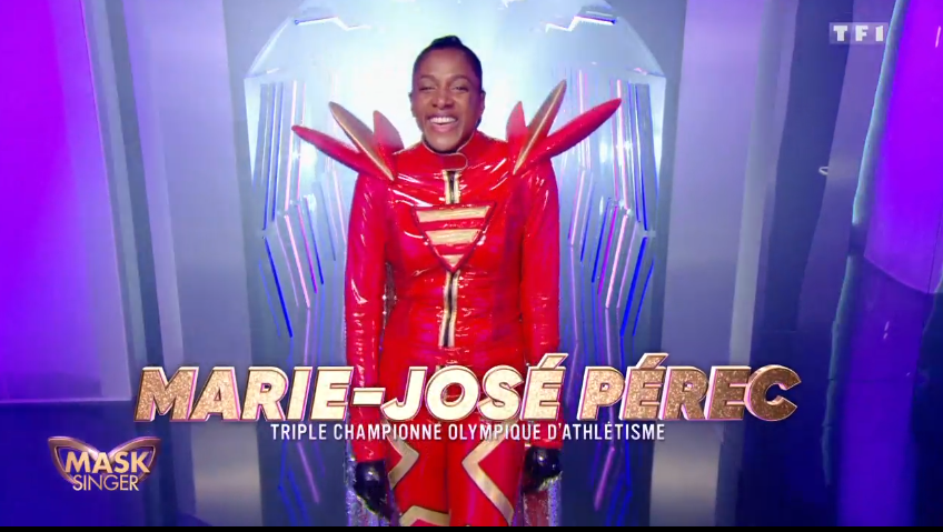Mask Singer - TF1 - Marie José Pérec - panthère