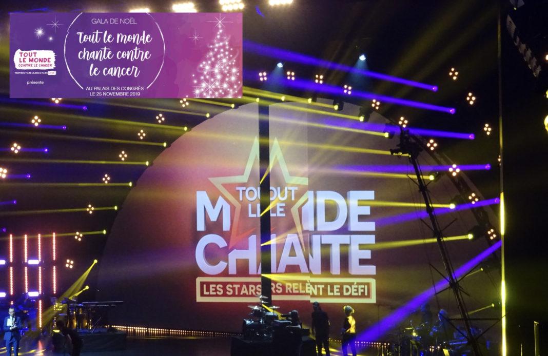 TLMC - Tout le monde chante - les stars relèvent le défi - W9 - Palais des congrès - gala - association -