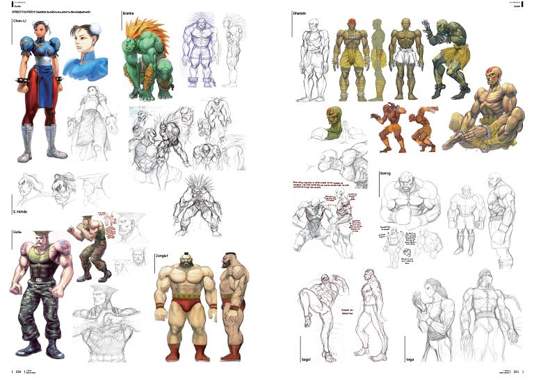 Street Fighter Yoshinori Ono Capcom jeu de combat PS4 XboxOne PS3 playstation Xbox360 développeur Takashi Nishiyama Kinu Nishimura artbook mana books