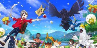 Pokemon Epee Bouclier Nintendo Switch generation 8 pocket monsters japon game freak jeu de roles arene ponyta galopa lineon scolocendre terres sauvages online