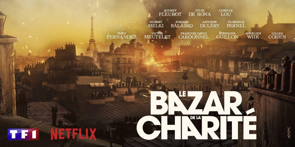 TF1 - série - fiction - le bazar de la charité - top audience - 2019