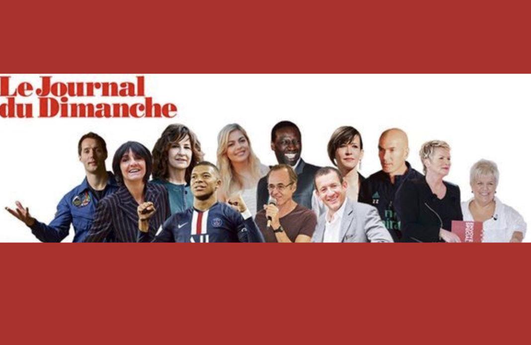 Top 50 - personnalités préférées 2019 - JDD