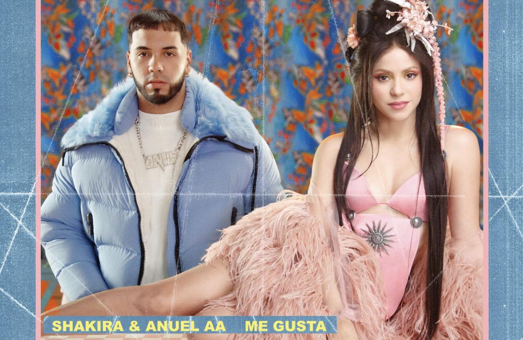 Shakira - Anuel AA - Me Gusta - single - feat