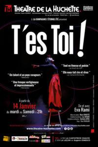 Eva Rami - Syma News - Theatre - Huchette - théâtres parisiens associés - Théâtre de la huchette - T'es toi - Comédienne - Syma News - Paris - spectacle - monologue - actrice - Testoi - Florence Yeremian