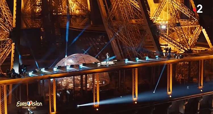 Tom Leeb - Eurovision - Eurovision 2020 - The Best in Me - Tour Eiffel - France 2