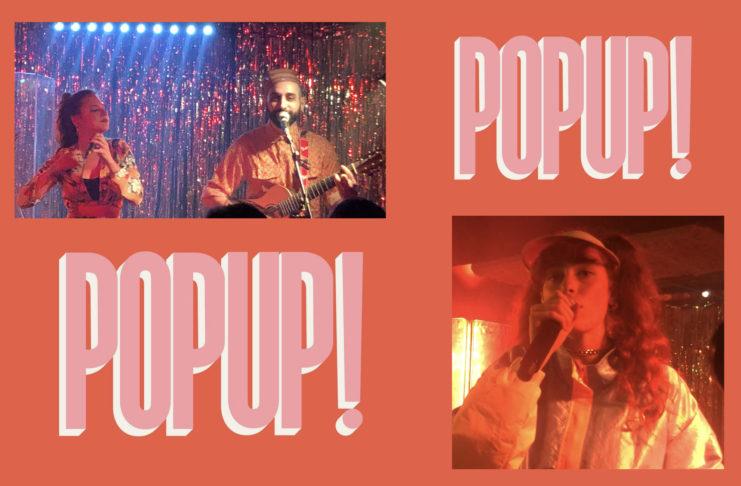 Andriamad - Poupie - Pop up du label - live report - concert