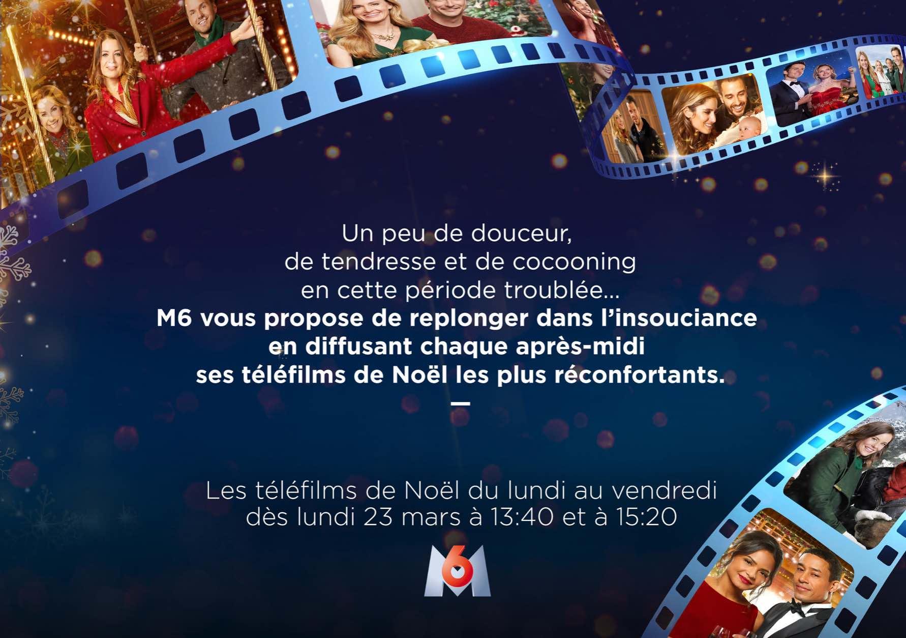 M6 - téléfilms Noël - confinement - coronavirus