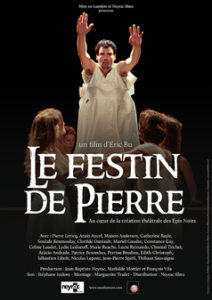 Eric Bu - cineaste - cinema - film - movie - theatre - comedien - metteur en scene - paris - spectacle - syma news - symanews - florence yeremian - interview - scene - comedie - le festin de pierre - le retour de richard 3