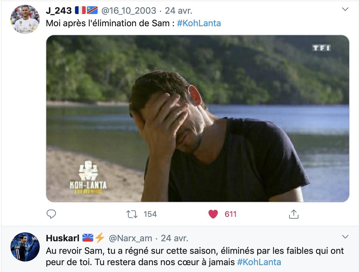 Koh Lanta - Sam - Koh Lanta l'île des héros - TF1