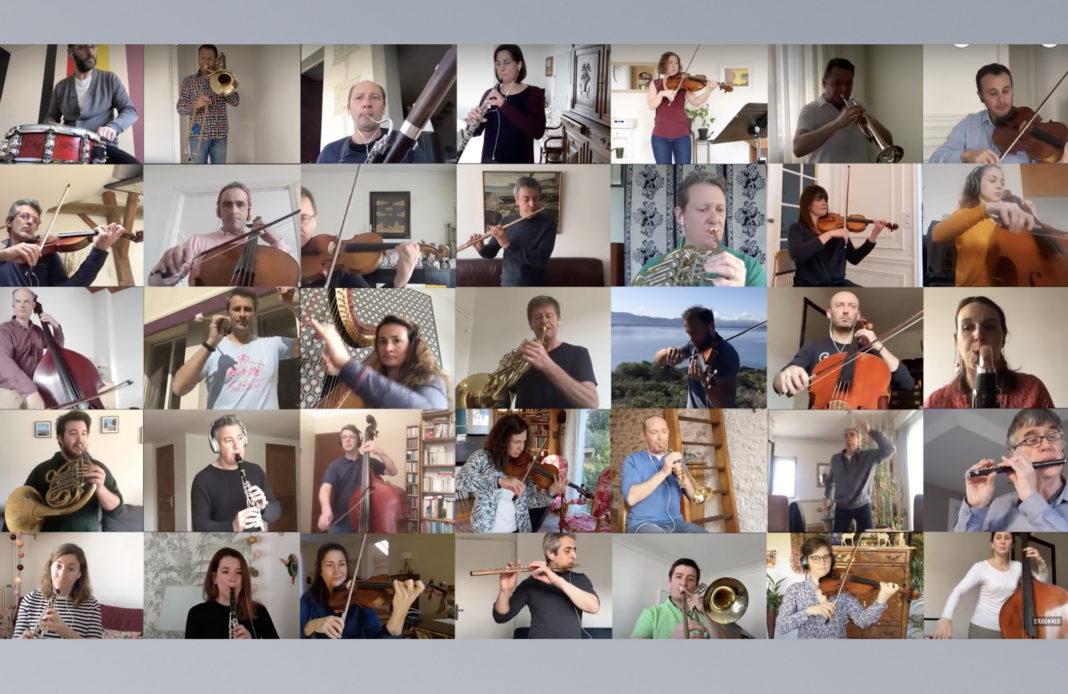 Orchestre national de France - confinement. - Boléro Ravel
