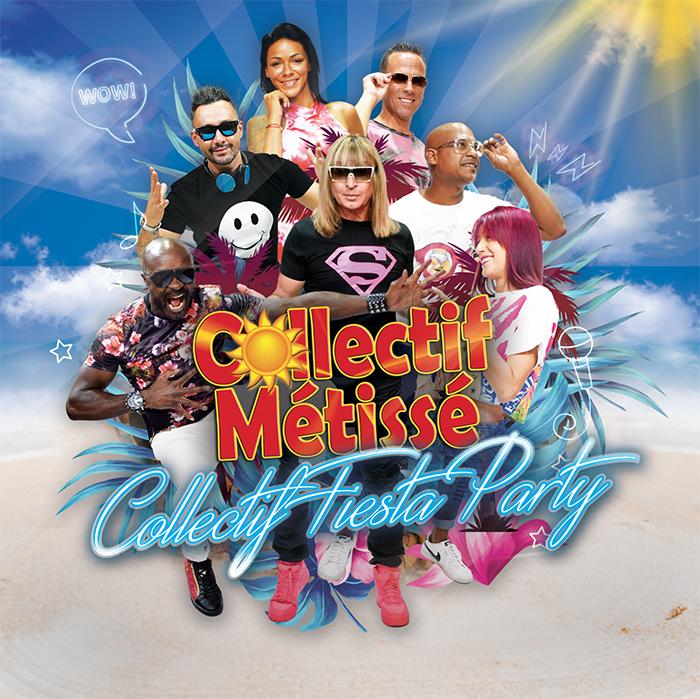 Collectif Métissé - Allez allez allez on va tout oublier - collectif fiesta party - pochette - album