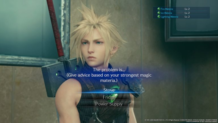 final fantasy VII 7 remake square enix PS4 sony rpg jrpg jeu de roles cloud tifa aeris barrett action materia midgar