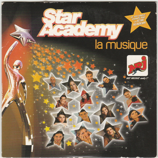 Star Academy - La musique - pochette - single - Star academy 1