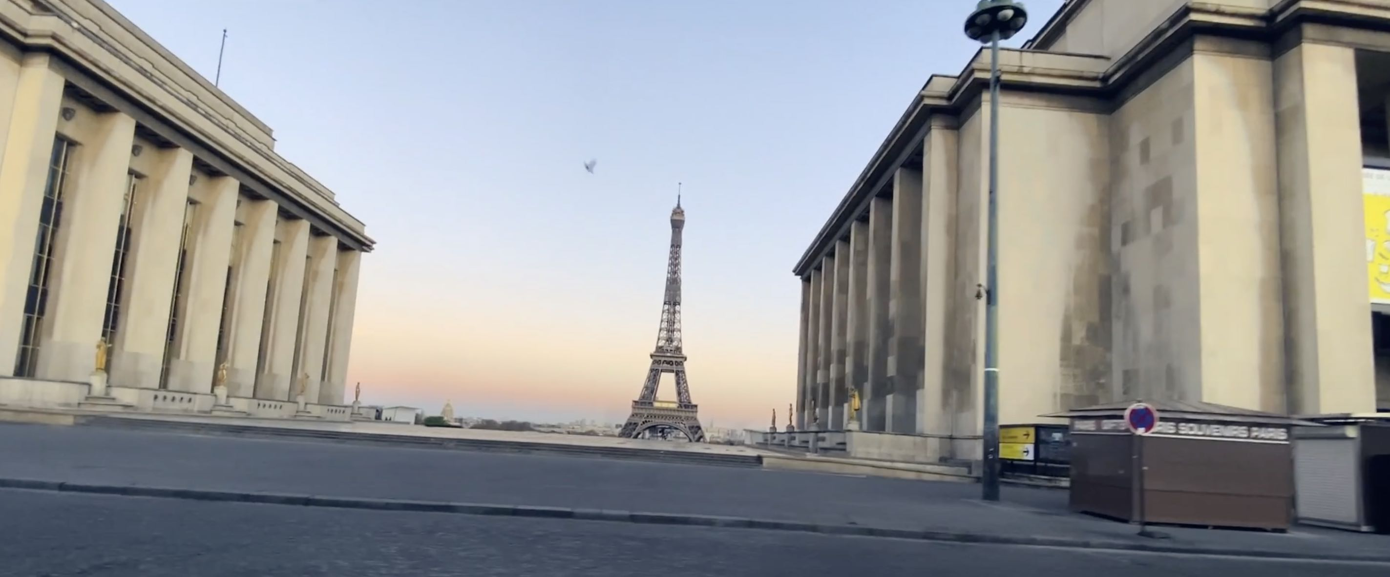 The Avener - 900 Miles - clip - confinement - Paris
