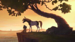 Yakari - indien - sioux - dessin animé - film - cinema - long-metrage - symanews - florence yeremian - xavier Giacometti - celia soumet - Derib -Job - livre - serie - enfant - liberté - mustang, - cheval - amitié - BD - petit-tonnerre - 2D - 3D - animation - Toby Genkel