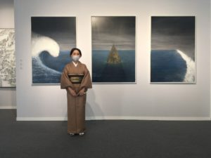 Shiori Eda - peintre - art - japonaise - syma news - florence yeremian - Galerie A2Z - Huile - art paris - art