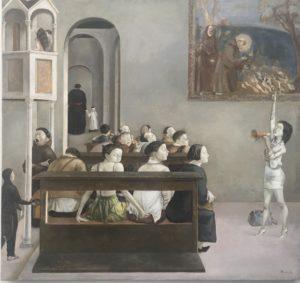 Xiao Guo Hui - art paris - perversion - primitif italien - tempera - florence yeremian - syma news
