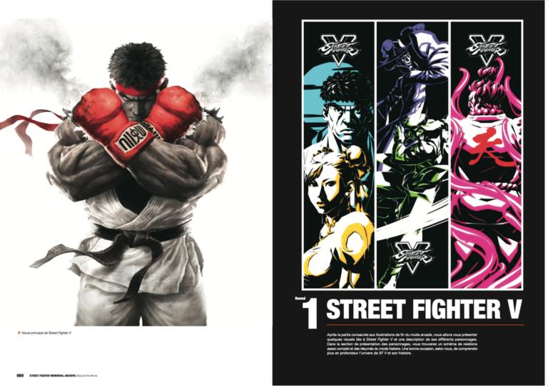 street fighter capcom jeu vidéo jeu de combat baston kuropop kurokawa artbook