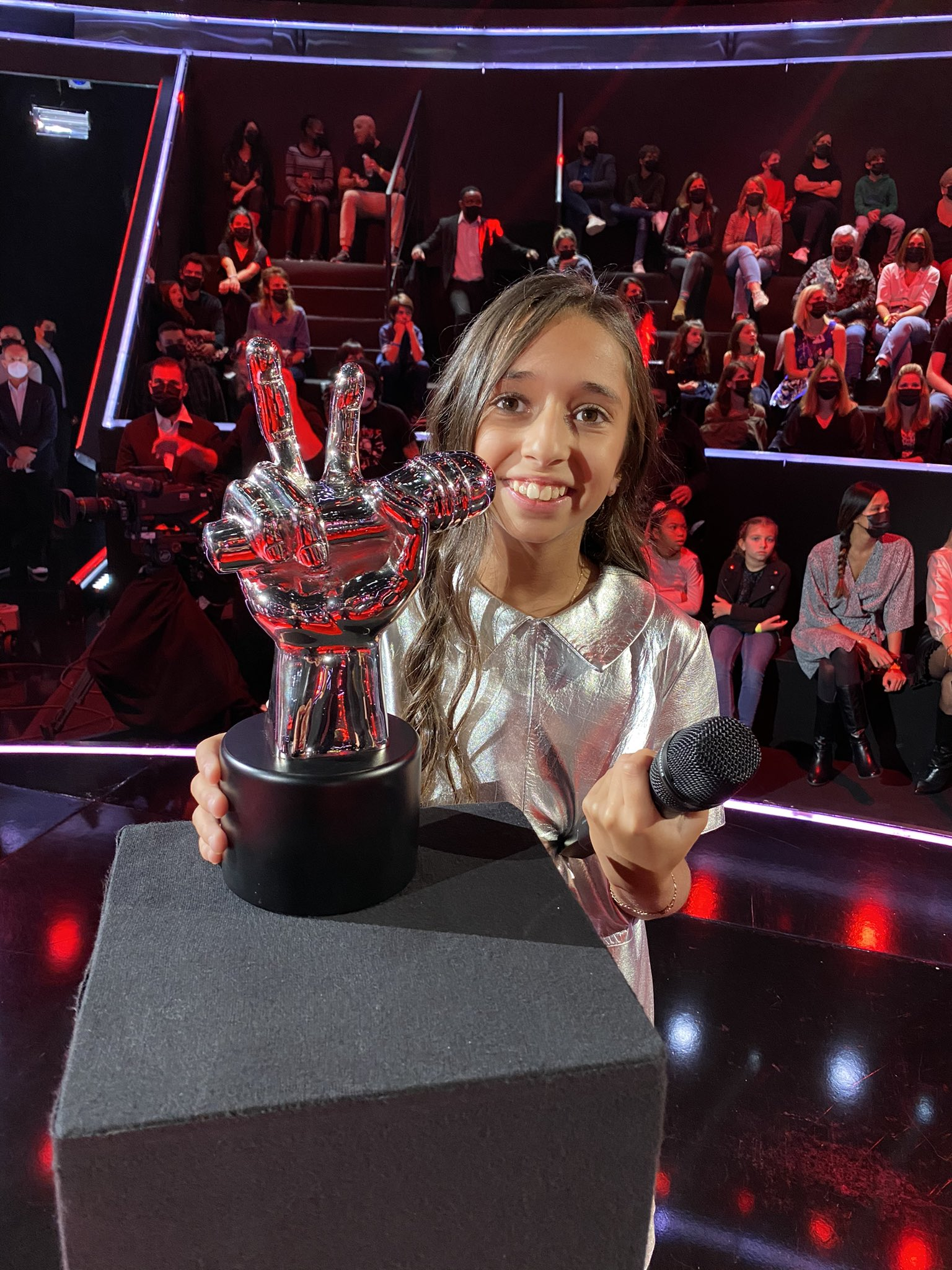 The voice kids - Rebecca - TF1