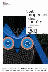 Affiche nuit des musées 2020 virtuel