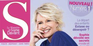 Sophie Davant - S le magazine de Sophie - magazine féminin -