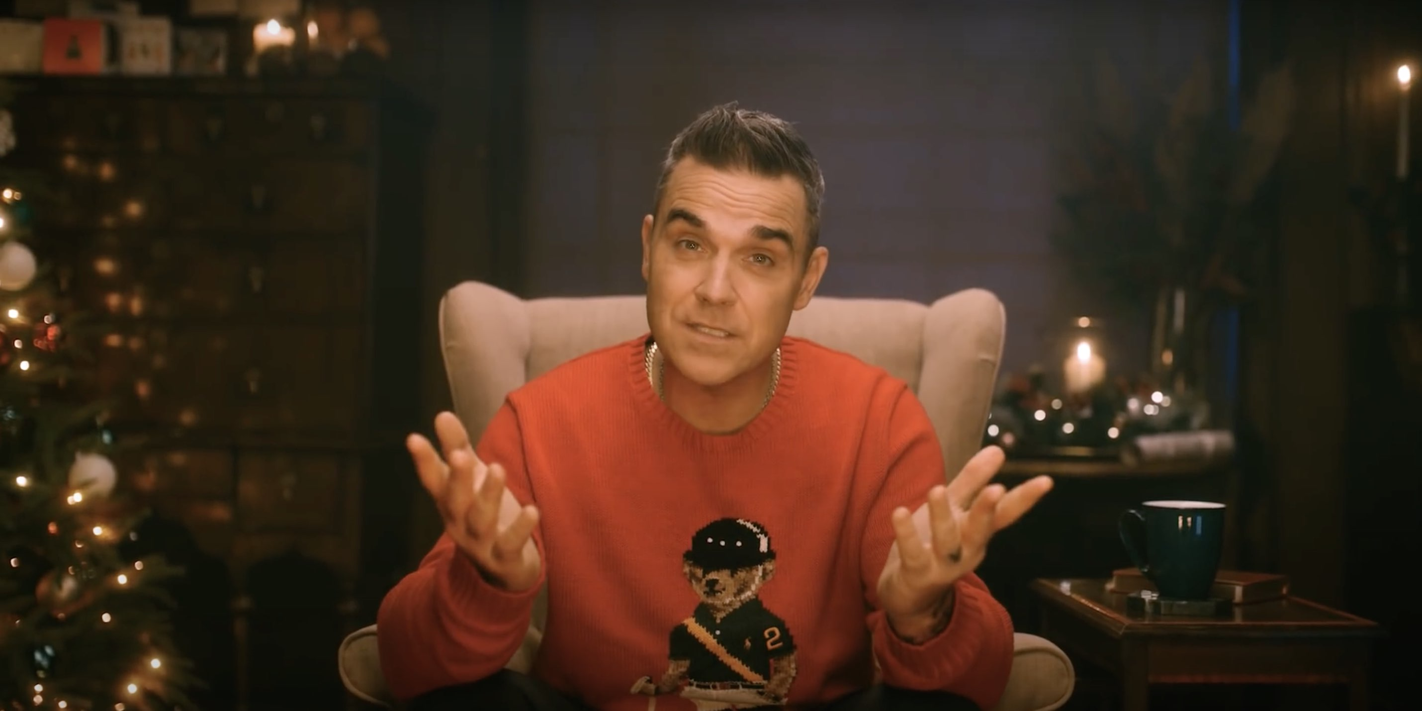 Robbie Williams - Can't stop Christmas -