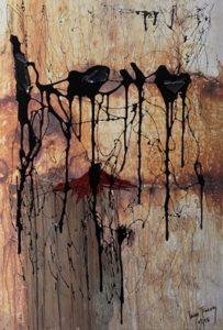 Artiste - jimenez - palies - peinture - expo - syma news