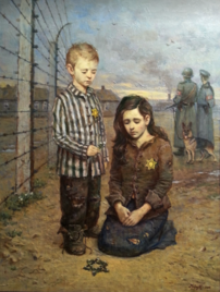Broken Childhood - Harutyunyan - syma - jews - holocaust - moscou - moscow - concour - arte - juifs - guerre - oil