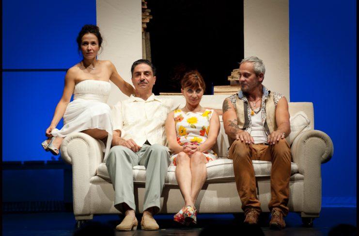 le dernier jour du jeune - simon abkarian - ariane ascaride - syma news - florence yeremian - theatre - france 5 - TV- inceste - viol - orient