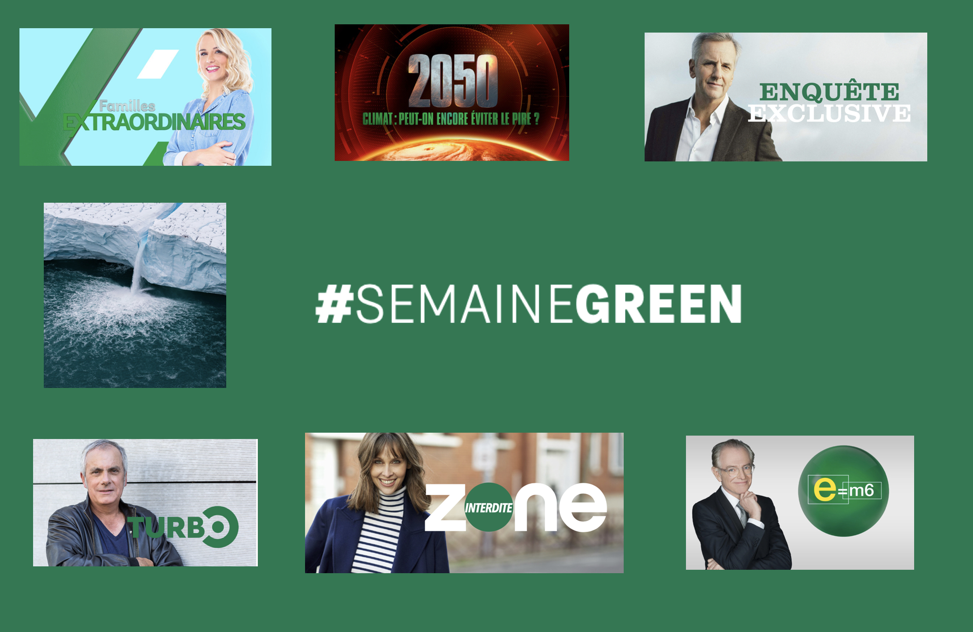 Semaine green - Groupe M6 - 2021 -