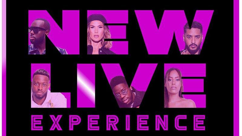 New live experience - concert - live stream - Slimane - Vitaa - Gims - Amel Bent - Dadju - Franglish -