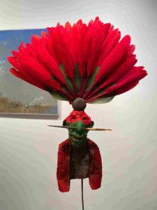 plume - gerard cambon - sculpture - galerie legrand - syma news
