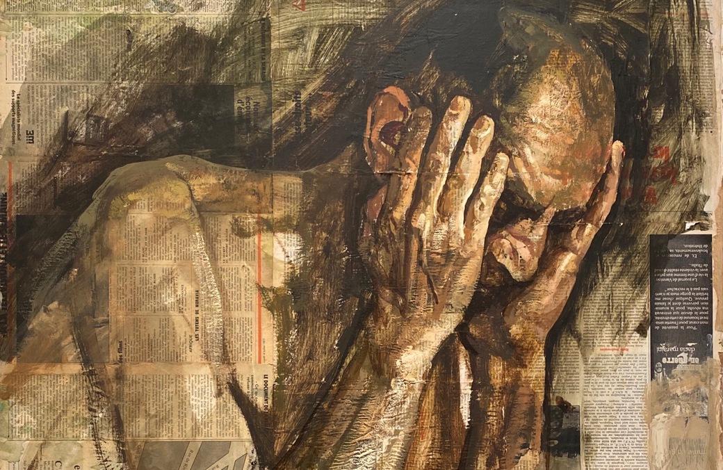 Safet-Zec-galerie-Schwab-syma-news-Florence-Yeremian-art-peinture-peintre-gallery-paris-beaubourg-expressionnisme-torture-homme-nu-exposition-expo-kunst-arte-figuratif-painting-tableau-huile-yougoslavie-bosnie-sarajevo-comtesse