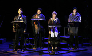 Theatre - piece - mesguisch - palies - andrea -clark - florence yeremian - syma