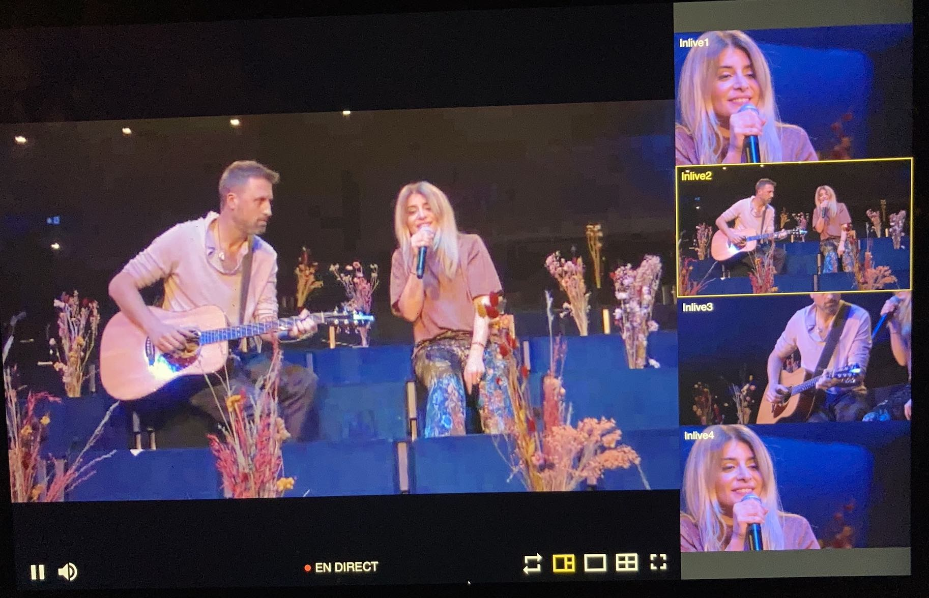 Julie Zenatti - Live stream - La Scarla -