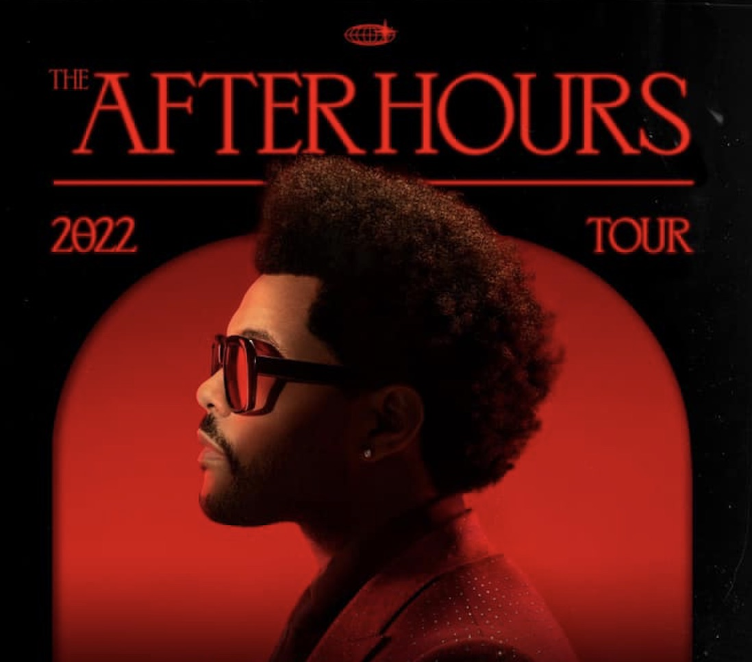 The Weeknd - super bowl - after hours tour 2022 -