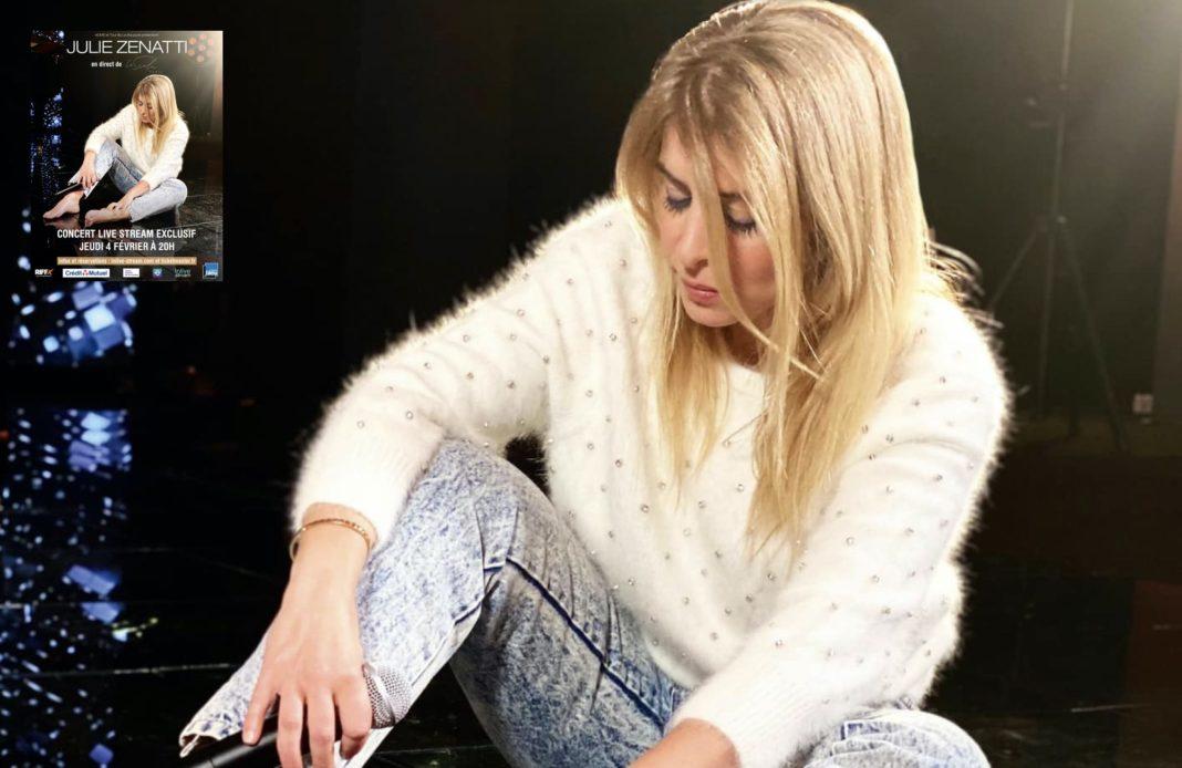 Julie Zenatti - Live stream - La Scala -
